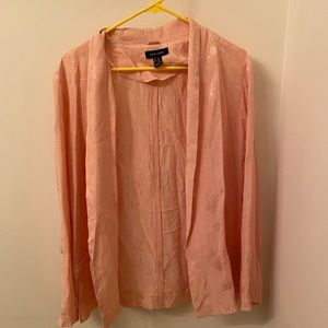 Coral Pink New Look Blazer - Size 10